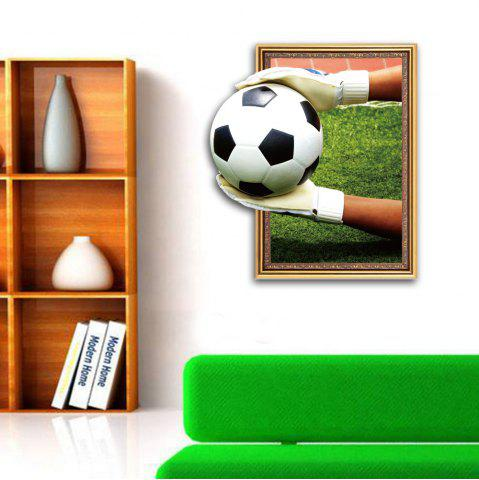 Outfit 3D Goalkeeper Football Personality Creative Removable Wall Sticker