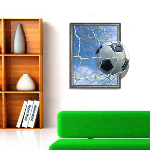Outfits 3D Football Scoring Personality Creative Removable Wall Sticker
