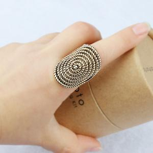 PULATU Stylish Personality Rattan Ring for Women -