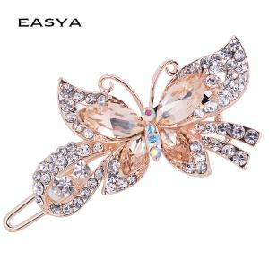 Fashion Hairpins Accessories Plated Clips Hair Pin Ponytail -