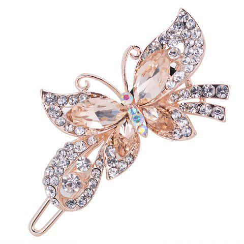 Fancy Fashion Hairpins Accessories Plated Clips Hair Pin Ponytail