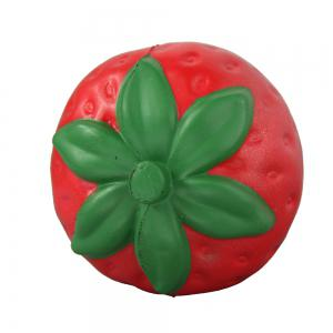 Jumbo Squishy Coloured Strawberry Relieve Stress Toys -