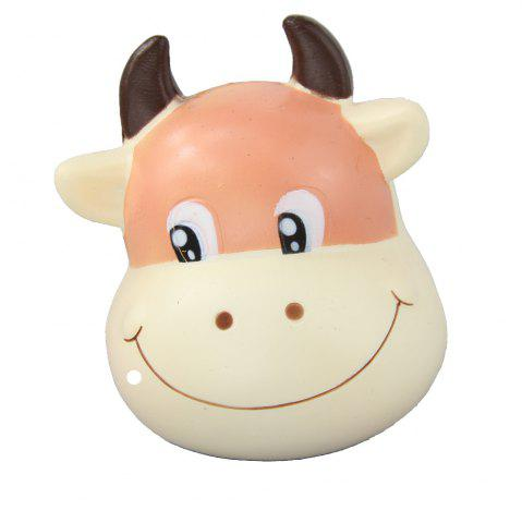 Shops Jumbo Squishy Brown Cow Relieve Stress Toys