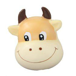 Jumbo Squishy Brown Cow Relieve Stress Toys -