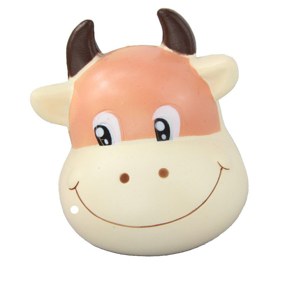 Jumbo Squishy Brown Cow soulager les jouets de stress