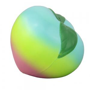 Jumbo Squishy Colourful Peach Relieve Stress Toys -