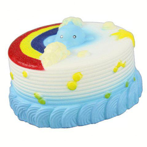 Jumbo Squishy Sea Gâteau soulager le stress jouet