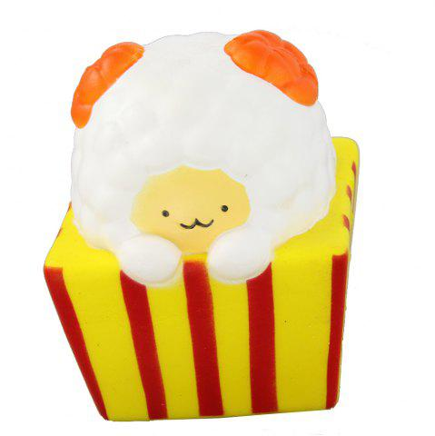 Jumbo Squishy Popcorn Sheep soulager les jouets de stress
