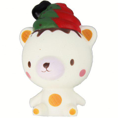 Unique Jumbo Squishy Christmas Bear Relieve Stress Toys