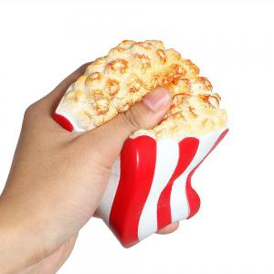 Jumbo Squishy Popcorn Slow Rising Cute Soft Squeeze Straps Anti Stress Cream -