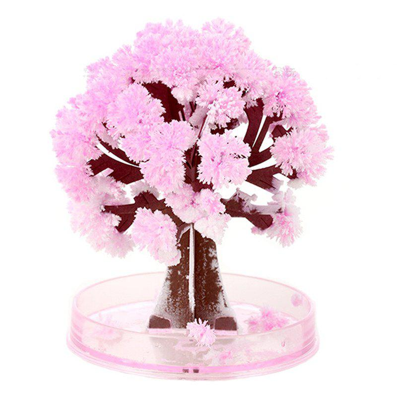 Chic Crystal Growing Sakura Paper Tree Cherry Novelty Toy