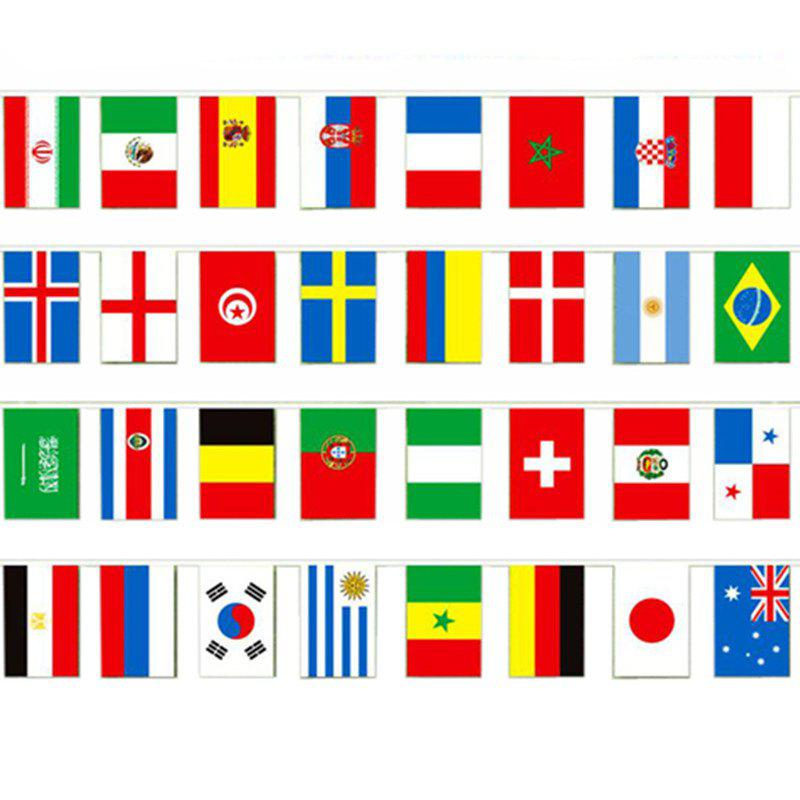 Shops Football 32 Country  Flag String