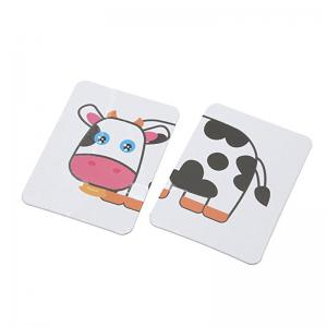 Baby Learn English Pair Puzzle Cognitive Card Infant 32pcs / Box -