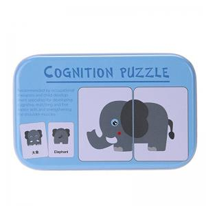 Baby Learn English Pair Puzzle Cognitive Card Infant 32pcs/Box -