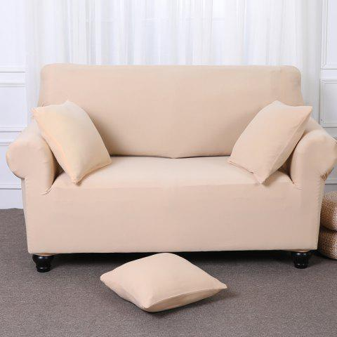 Fancy Elastic Tight Package Anti-Skid Pure Color Sofa Cover