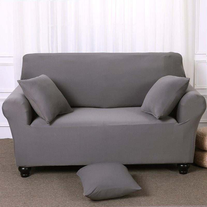 Trendy Elastic Tight Package Anti-Skid Pure Color Sofa Cover