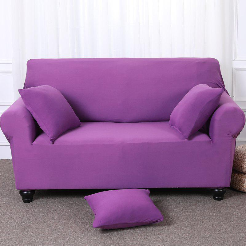Chic Elastic Tight Package Anti-Skid Pure Color Sofa Cover