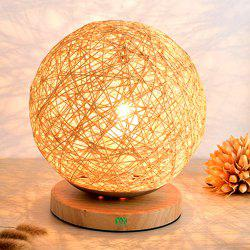 YWXLight Table Lamp  Protect Eyesight Takraw Wood for Home Bedroom Room -
