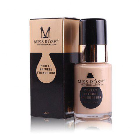 Shop MISS ROSE New 30ML Glass Bottle Repair Nourishing Concealer Liquid Foundation
