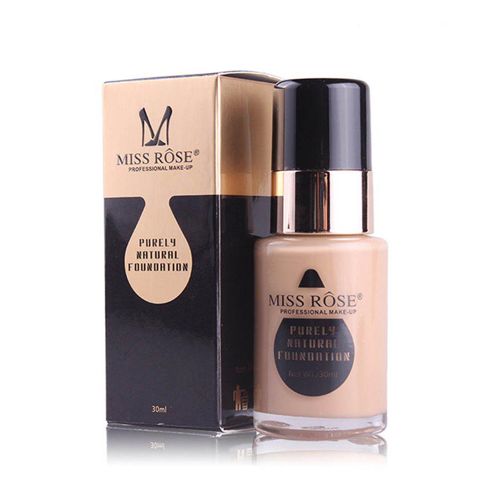 Discount MISS ROSE New 30ML Glass Bottle Repair Nourishing Concealer Liquid Foundation