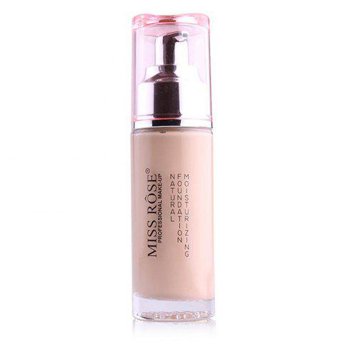 Fancy MISS ROSE Silver Bottle Concealer Liquid Foundation