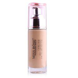MISS ROSE Silver Bottle Concealer Liquid Foundation -