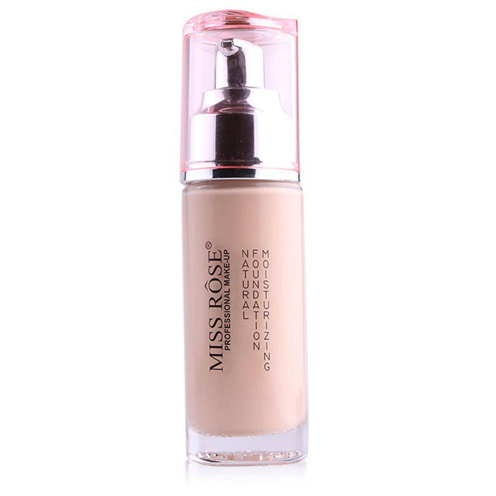 Hot MISS ROSE Silver Bottle Concealer Liquid Foundation