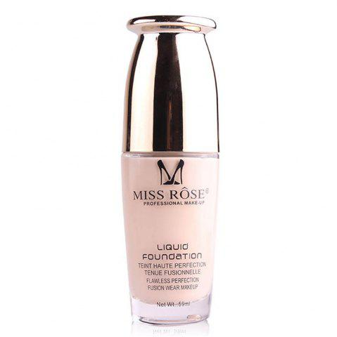 MISS ROSE 59ML Réparation Nourrissant Nude Maquillage Fondation
