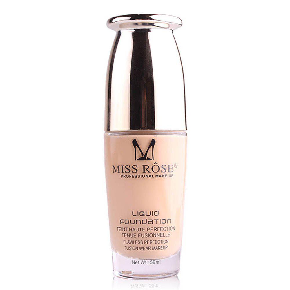 Fashion MISS ROSE 59ML Repair Nourishing Nude Makeup Foundation