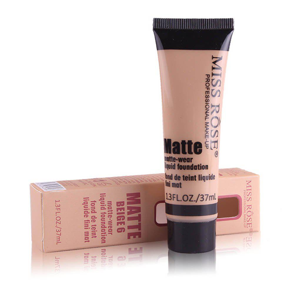 Unique MISS ROSE 37ML Concealer Repair Nourishing Nude Makeup Foundation