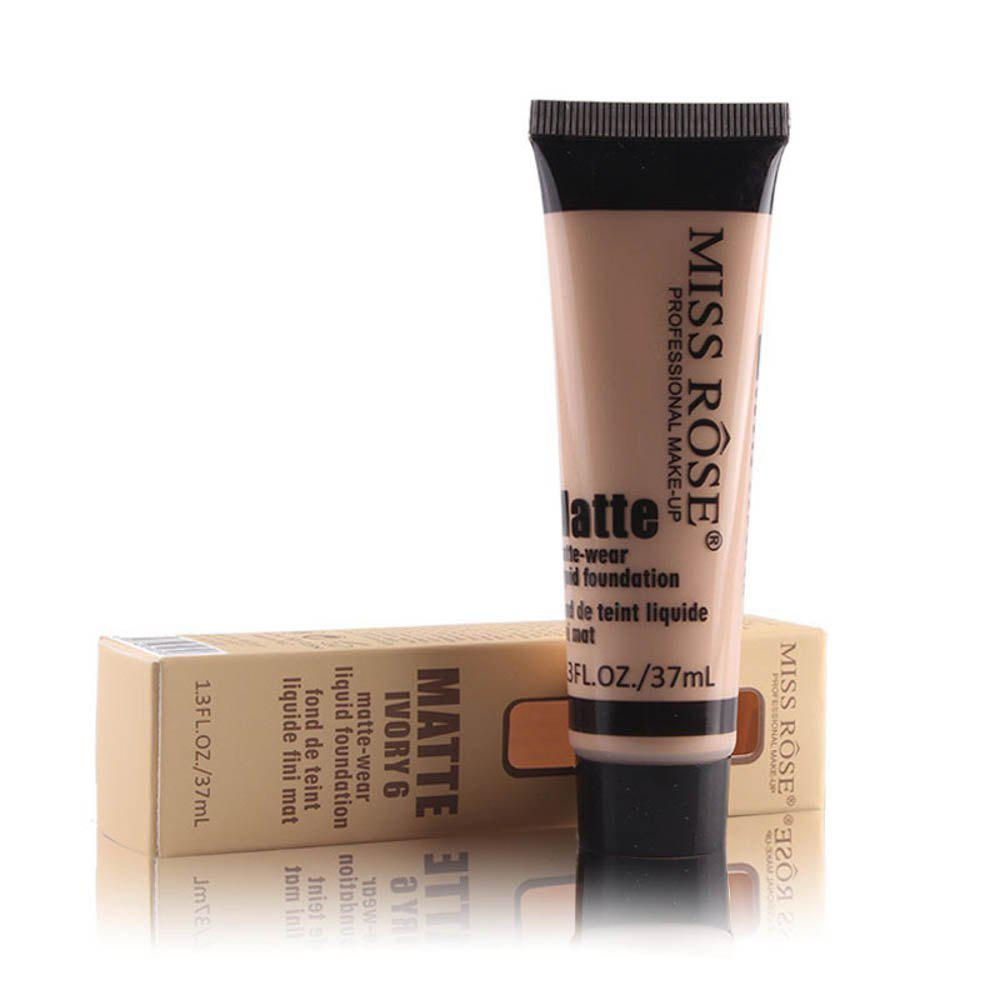 New MISS ROSE 37ML Concealer Repair Nourishing Nude Makeup Foundation