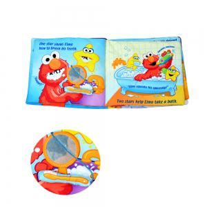 Puzzle Cognitive Baby Toys Educational Three-dimensional Cloth Book -