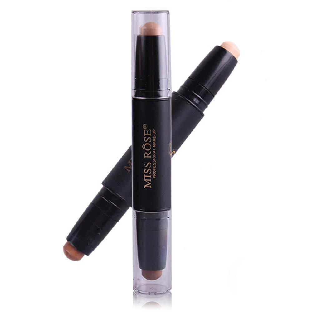 Store MISS ROSE Double Head Highlighter Shading Concealer Stick
