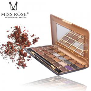 MISS ROSE 24 Color Pearlescent Matte Makeup Eyeshadow -