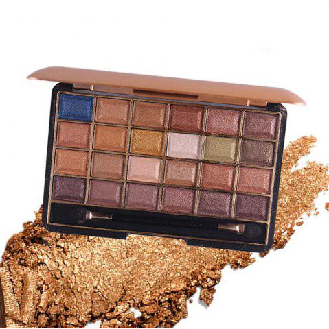 Online MISS ROSE 24 Color Pearlescent Matte Makeup Eyeshadow