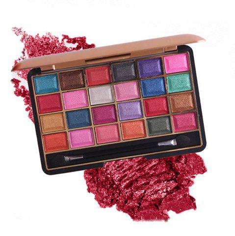 Outfit MISS ROSE 24 Color Pearlescent Matte Makeup Eyeshadow