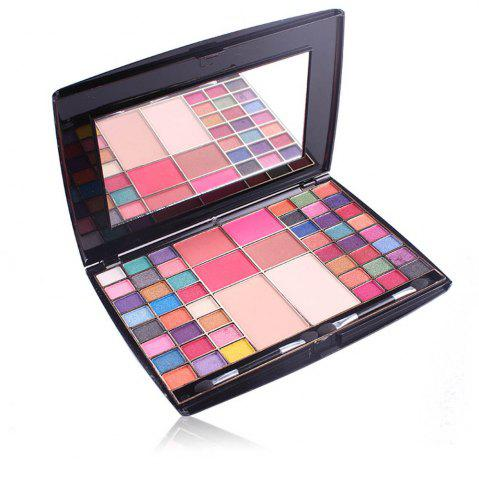 Fashion MISS ROSE Eyeshadow Blush Powder Makeup Box