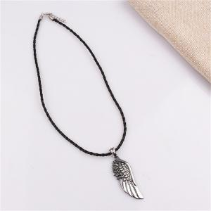 Men's Fashion Trend Wings of Angel Pendant Necklace -