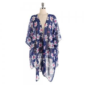 Women Bikini Cover Up Beach  Blouse Scarf -