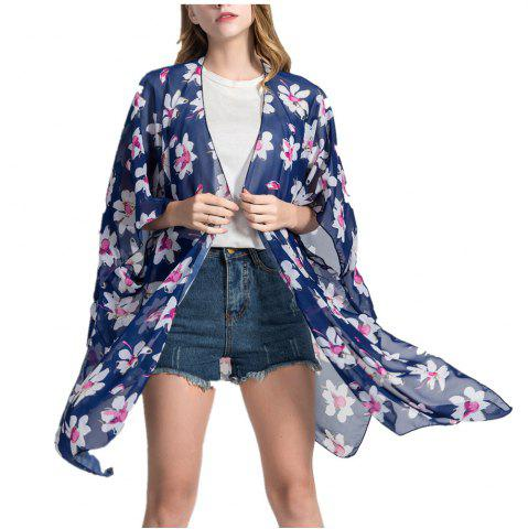 Trendy Women Bikini Cover Up Beach  Blouse Scarf