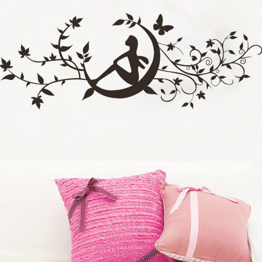 Discount Art Decal Decoration Fashion Romantic Flower Wall Sticker