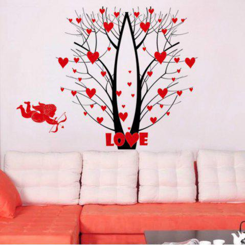 Trendy Fower Tree Wall Sticker  Mural   Home Living Room Bedroom Decor