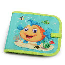 Educational Toys Children Graffiti Soft Panel Multi-function Writing Board Ocean -