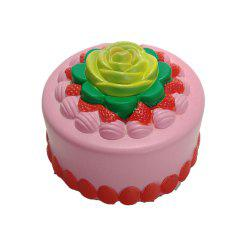New Slow Rebound Toy Jumbo Squishy PU Simulation Bakery Cake -