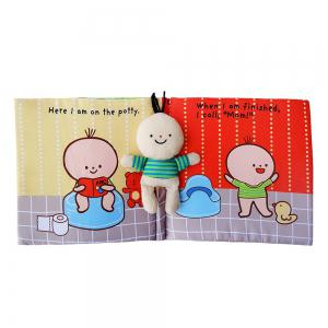 Children Go to the Toilet  Tath Education Cloth Book -