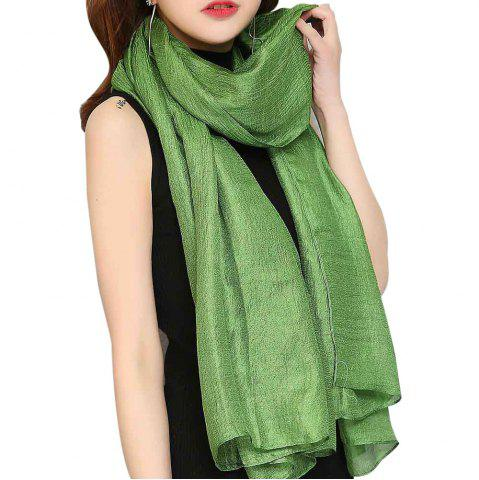 Outfits Solid Color Scarf Pearlescent Texture Holland Long Silk Shawl