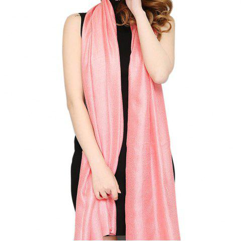 Best Solid Color Scarf Pearlescent Texture Holland Long Silk Shawl