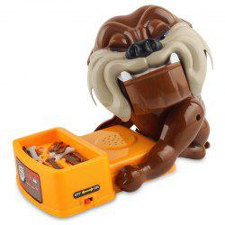 Evil Dog Desktop Game Parent-child Bite Tiger Dog Creative Toy -