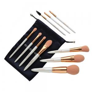 Набор для макияжа EIGSHOW 10PCS Vegan Kit Champaign & Rose Gold & Light Gun Black -