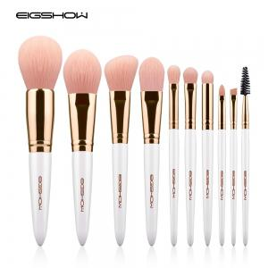 EIGSHOW Makeup Brushes Cosmetic Kit for Foundation Powder Eyebrow Eyeshadow Lip 10PCS / Set -